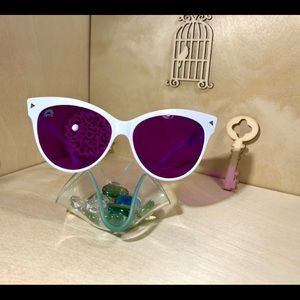 Violet Cat Eye Sunglasses